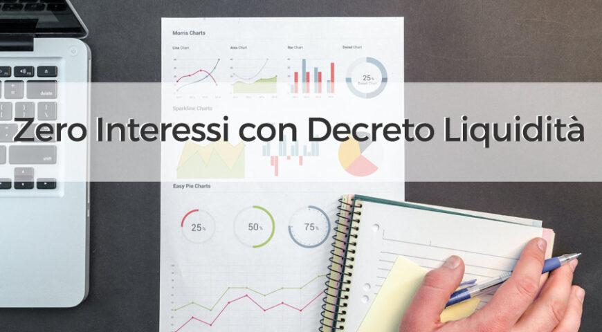 Zero Interessi con Decreto Liquidità: investi sul digitale